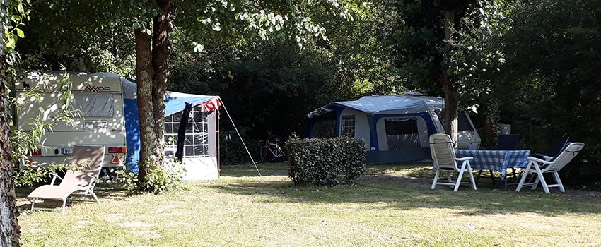 camping emplacement tentes et caravanes