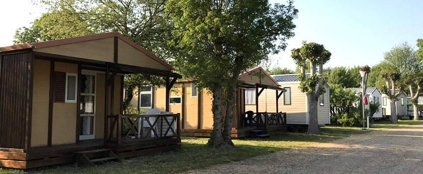 location chalet camping vendée