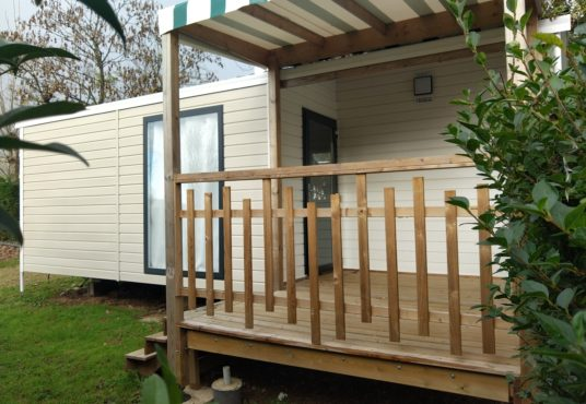 Mobil Home gamme Duo avec terrasse